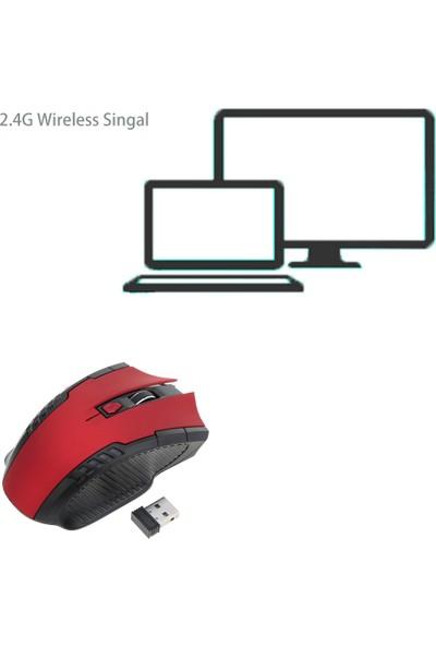 Buyfun 2.4G Kablosuz İş-Oyun Faresi 2400 DPI (Yurt Dışından)