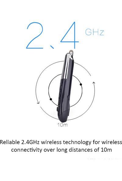 Buyfun Pr-06 2.4GHz Kablosuz Optik Dokunmatik Kalem Fare 800/1200/1600DPI (Yurt Dışından)