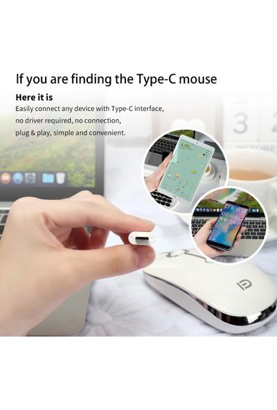 Fd I331D 3 Modu 2000 DPI Şarj Edilebilir Ayarlanabilir Mouse (Yurt Dışından)