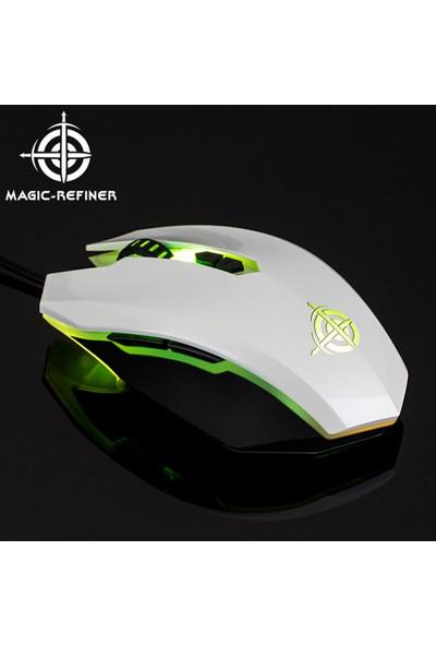 Magic-Refiner Mg5 USB Kablolu Gaming Mouse Oyun Fareler (Yurt Dışından)
