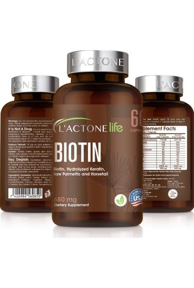 Lactone Biotin 680 mg / 60 Kapsül