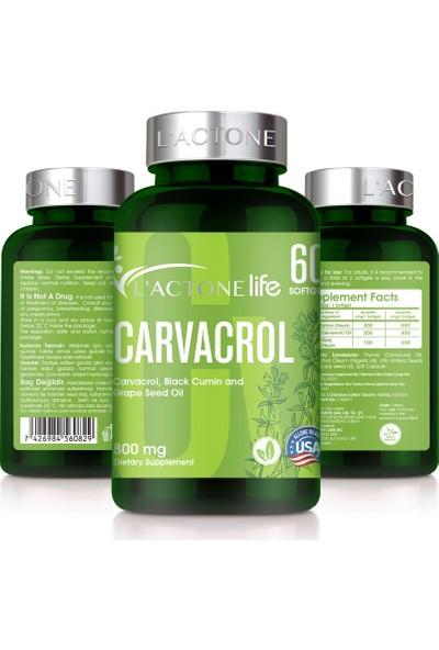 Lactone Carvacrol 800 mg / 60 Softgel