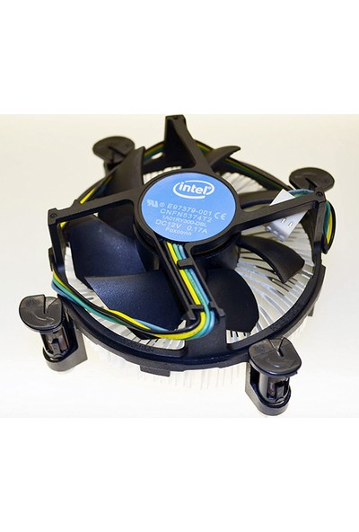 Intel Soket 1150/1151/1155 Pin Işlemci Fanı