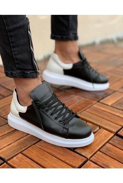 Chekich CH256 Bt Erkek Ayakkabı Siyah / Beyaz