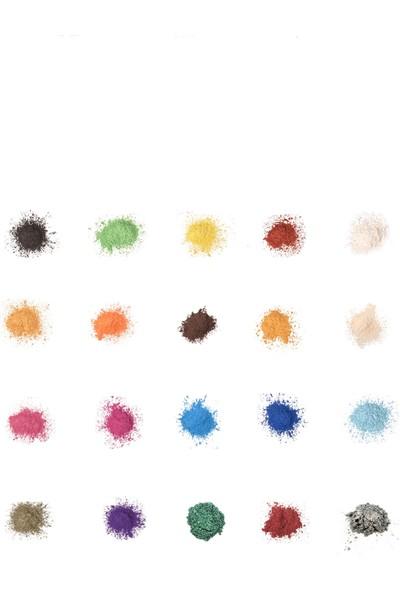 Brtrkimya Violet 10Gr Sedefli Epoksi Metalik Toz Pigment