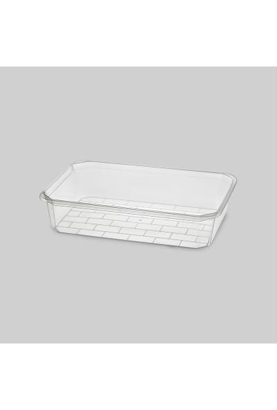Erkoç Plastik Şeffaf Açık Küvet 33X45X9 Cm E344