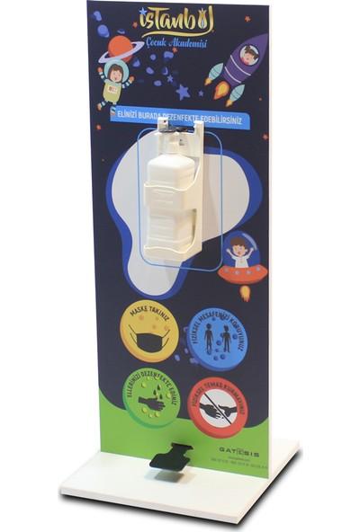 Gatesis Ekogate 03 Mini Pedallı El Dezenfekte Standı
