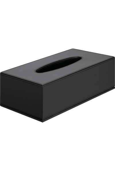 Hafele Deri Kağıt Peçetelik 138X138X142Mm,Siyah