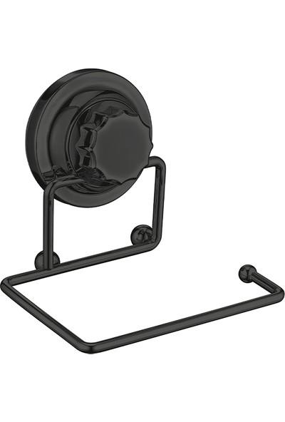 Metalife Vakumlu Wc Kağıtlık / Siyah Vr-703