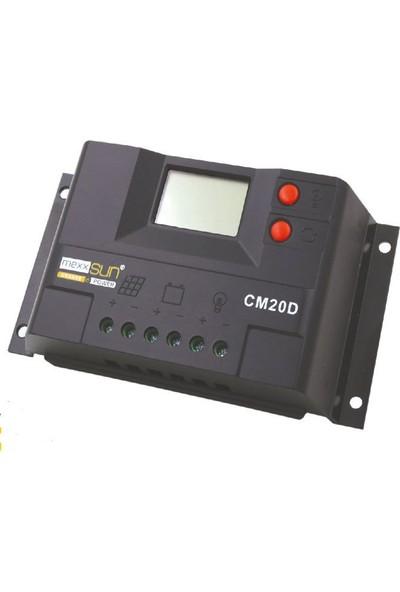 Mexxsun Cm30D 30 Amper Solar Şarj Regülatörü 12/24