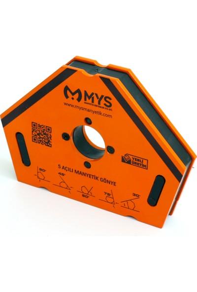 Mys Mg-05 Manyetik Kaynak Gönyesi 5 Açılı, Kaynak Tutucu Mıknatıs