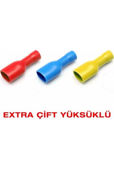 Nexo Extra Yüksüklü Tam İzoleli Dişi Faston-Pvc 10'Lu