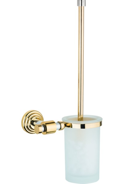 Saray Banyo Plus Gold Krom Klozet Fırçası