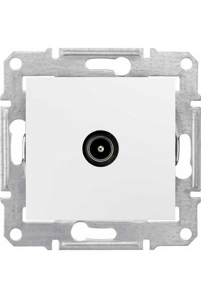 Schneider Electric Sedna Tv Prizi Geçişli 8Db Beyaz 8690495042641