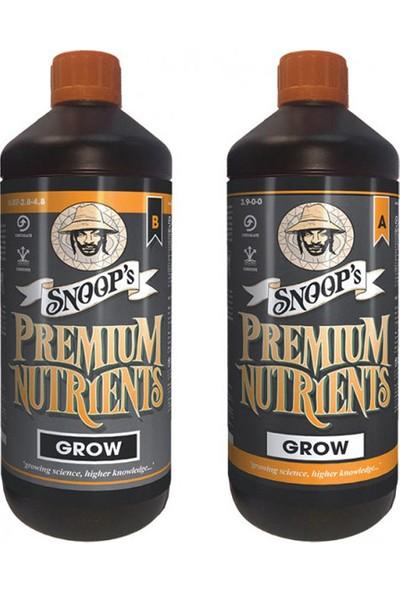 Snoop'S Premium Nutrients Hydro Grow A-B 1 Litre