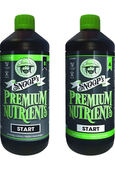 Snoop'S Premium Nutrients Start A-B Başlangıç Gübresi - 1 Litre