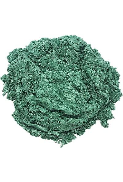 Brtrkimya Emerald Green 10Gr Sedef Epoksi Metalik Toz Pigment