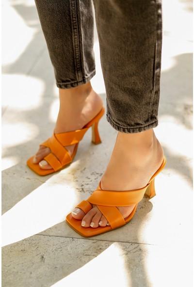 My Poppi Shoes Kadın Terlik Pavoletti
