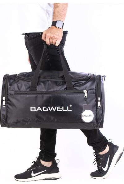Bagwell Yeni Sezon Büyük Boy Siyah Spor Ve Seyahat Çantası
