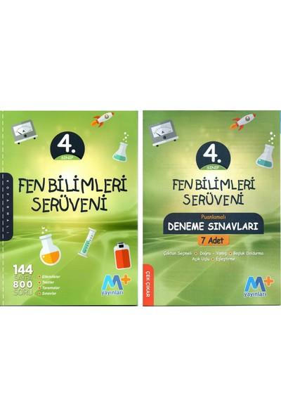 Martı Yayınları 4. Sınıf Fen Bilimleri Serüveni + 7' Li Deneme