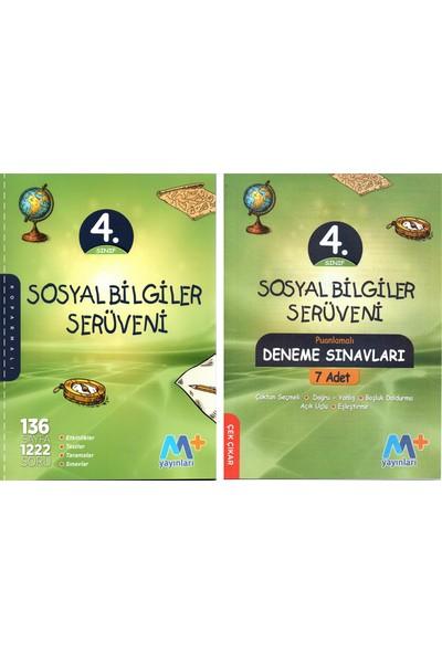 Martı Yayınları 4. Sınıf Sosyal Bilgiler Serüveni + 7' Li Deneme