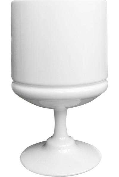 Dereli Mika Ayaklı Magnolia Cup 6'lı Tatlı Bardağı Beyaz