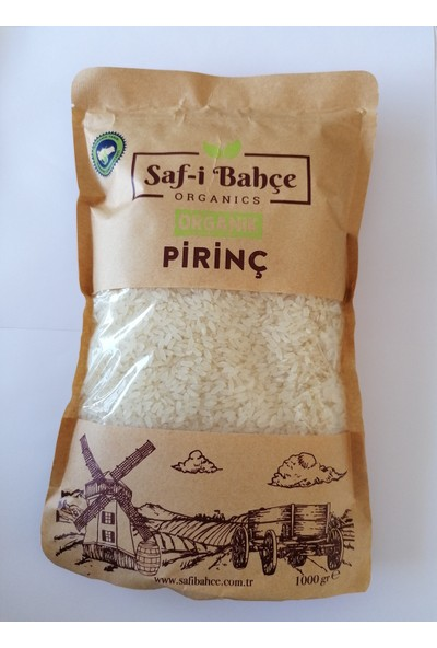 Saf-I Bahçe Pirinç 1 kg