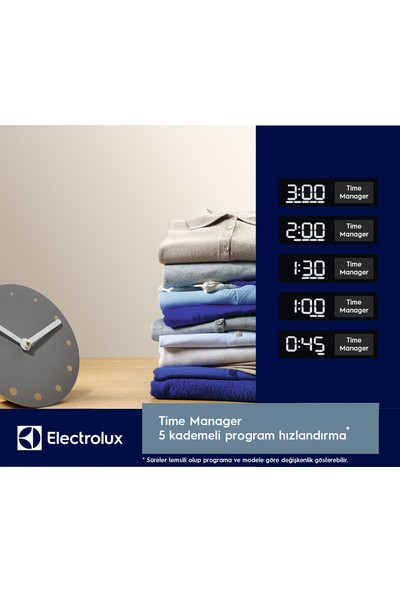 Electrolux EW6F4923EB A+++ 9 kg 1200 Devir Çamaşır Makinesi