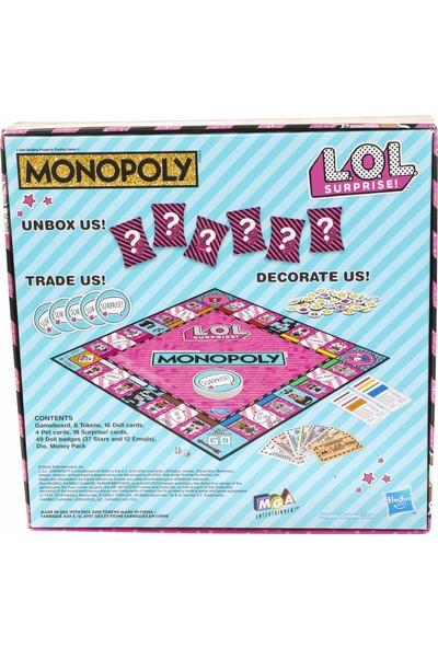 Hasbro Gaming Monopoly LOL Surprise Sürümü
