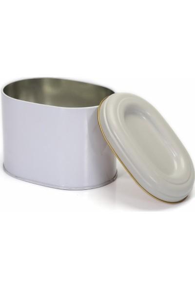Evle EF004-Y8 Metal Oval Kutu 1.7 lt