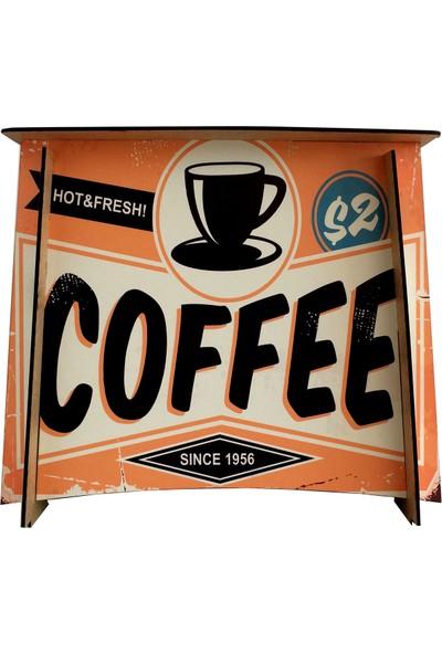 Pratik Dekor Dekoratif Coffee Sehpa
