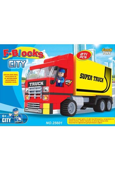 Furkan Toys F-Blocks City Seri 271 Parça