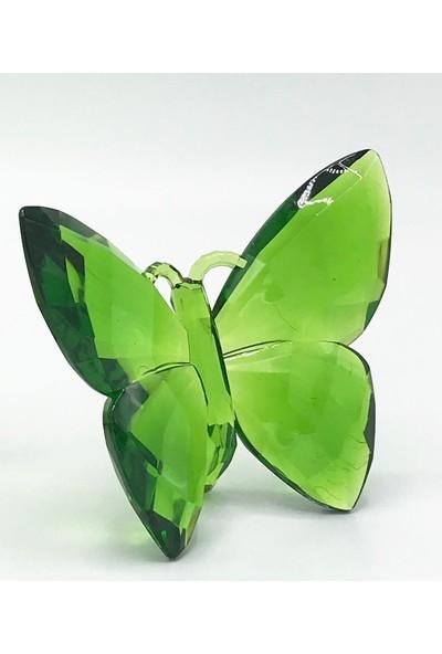 Maylowa Kelebek Dekor Kristal