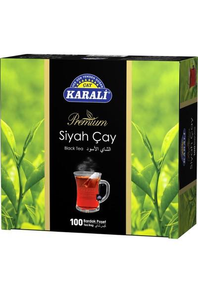 Karali Bardak Poşet Siyah Çay 100'lü