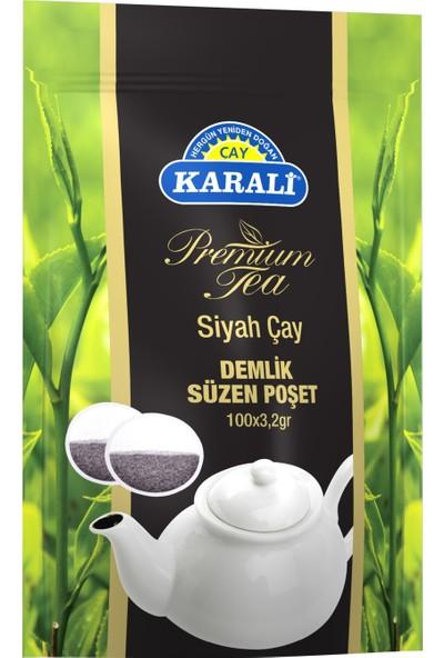 Karali Premium Demlik Poşet Çay 100'lü