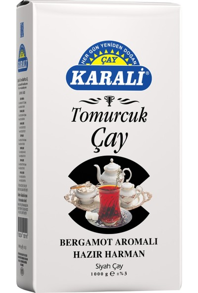 Karali Tomurcuk Çay Dökme Çay 1 kg