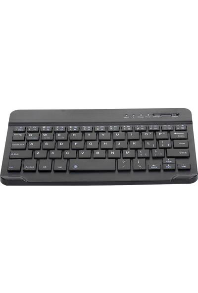 """Buyfun 7"""" Kablosuz Bt 3.0 Klavye Mini Ultra-İnce Bt (Yurt Dışından)"""