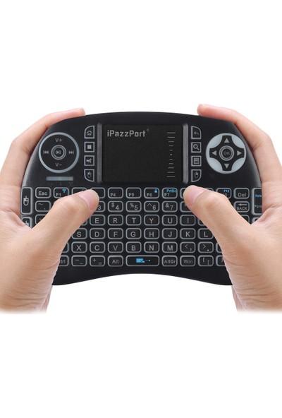 Ipazzport Mini Kablosuz Klavye Arka Dokunmatik Pad (Yurt Dışından)