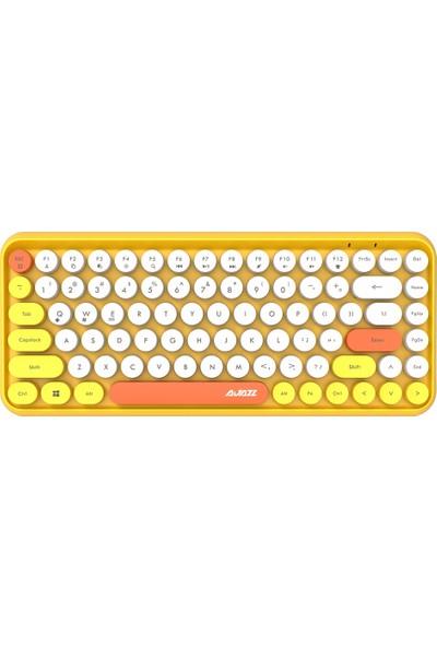 Ajazz 308I Bluetooth Klavye Yuvarlak Anahtar (Yurt Dışından)