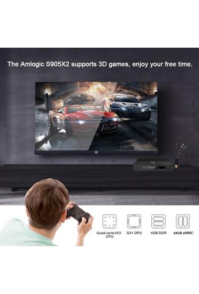 Buyfun A95X F2 Android 9.0 Smart Tv Box CORTEX-A53 4 Çekirdekli (Yurt Dışından)
