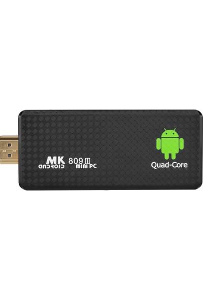 Buyfun MK809 Android 5.1.1 Tv Dongle RK3229 4 Çekirdekli 2G / 16G UHD (Yurt Dışından)