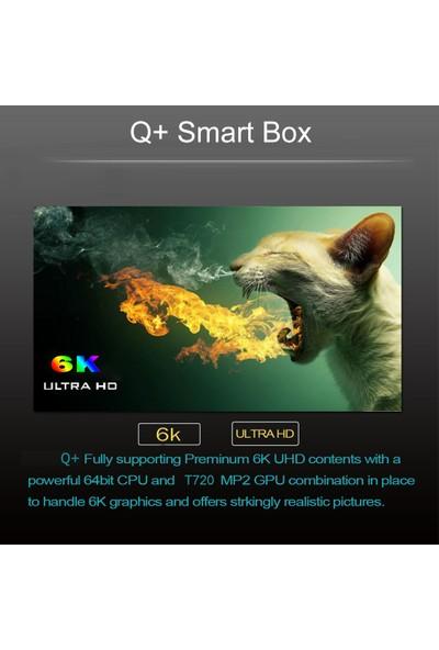Buyfun Q Plus Akıllı Tv Kutusu Android 9.0 Allwinner H6 2GB (Yurt Dışından)
