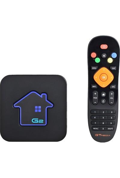 Gtmedia G2 Android Tv Kutusu + Iptv Sunucusu Uzaktan (Yurt Dışından)