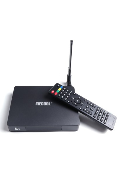 Mecool K7 Akıllı Tv Kutusu Dvb-S2 ve Dvb-T2 / T ve Dvb-C Set (Yurt Dışından)