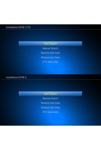 Mecool KIII Pro Android Tv Kutusu + Dvb-S2 ve Dvb-T2 ve Dvb-C Android (Yurt Dışından)