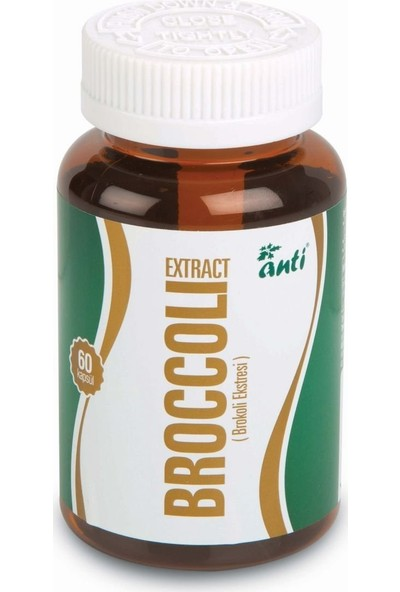 Anti Broccoli Extract %10 Glucoraphanin - Broccoraphanin - 60 Kapsül