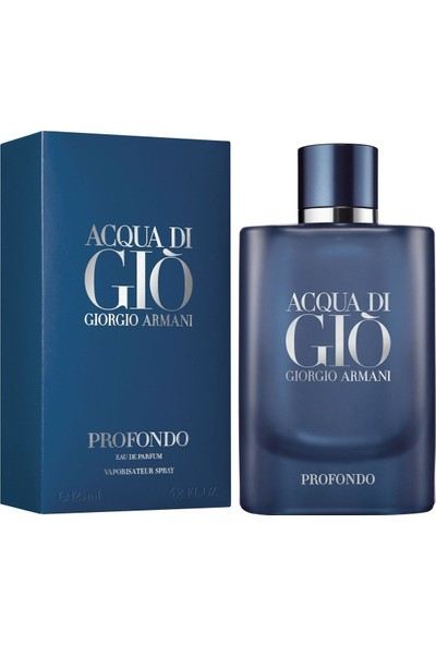 Giorgio Armani Acqua Di Gio Profondo Edp 125 ml Erkek Parfüm