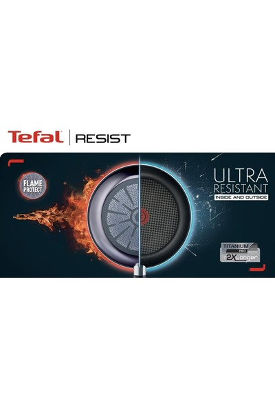 Tefal Tefal Titanium Resist Tava 24 cm