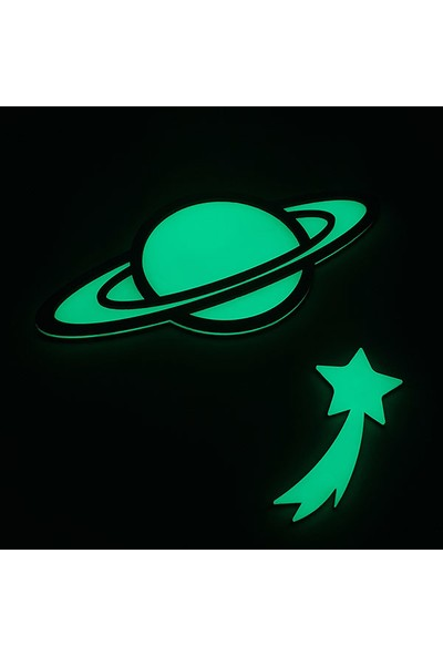 Faami Style Fosforlu Gezegen + Kayan Yıldız