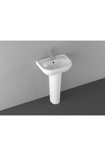 Isvea Ece Banyo Diana Tam Ayaklı Lavabo Takımı 65 cm Beyaz